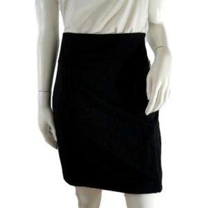White House Black Market Skirt Black Size 8 (NWT)